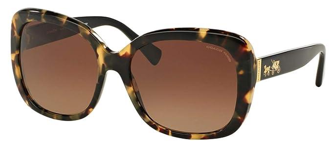 Amazon.com: Coach HC8158 - Gafas de sol para mujer (2.283 in ...