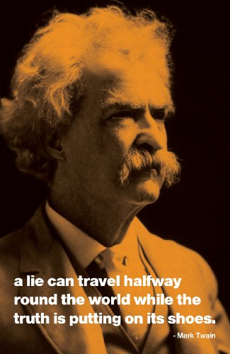 mark twain poster quote
