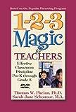 Buy 1-2-3 Magic for Teachers: Effective Classroom Discipline Pre-K through Grade 8
