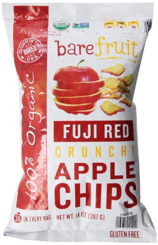 Bare Fruit Organic Crunchy Fuji Red Apple Chips 14 (Apple Organic Chips)
