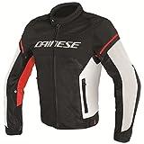 Dainese Air Frame D1 Mesh Textile Jacket Black/White/Red 50 Euro/40 USA