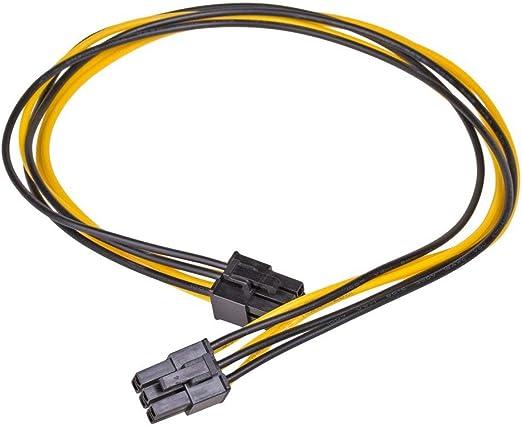 Akyga Ak Ca 49 2x Pci E 6 Pin Buchse Adapter Stromkabel Computer Zubehör