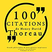 100 citations de Henry David Thoreau | Henry David Thoreau