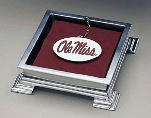 University of Mississippi Cocktail Napkin Box
