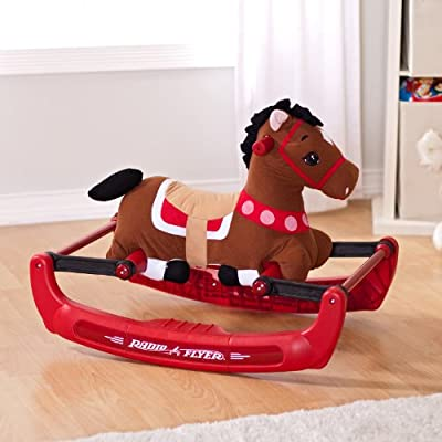 Radio Flyer Soft Rock And Bounce Pony With Sound from Radio Flyer