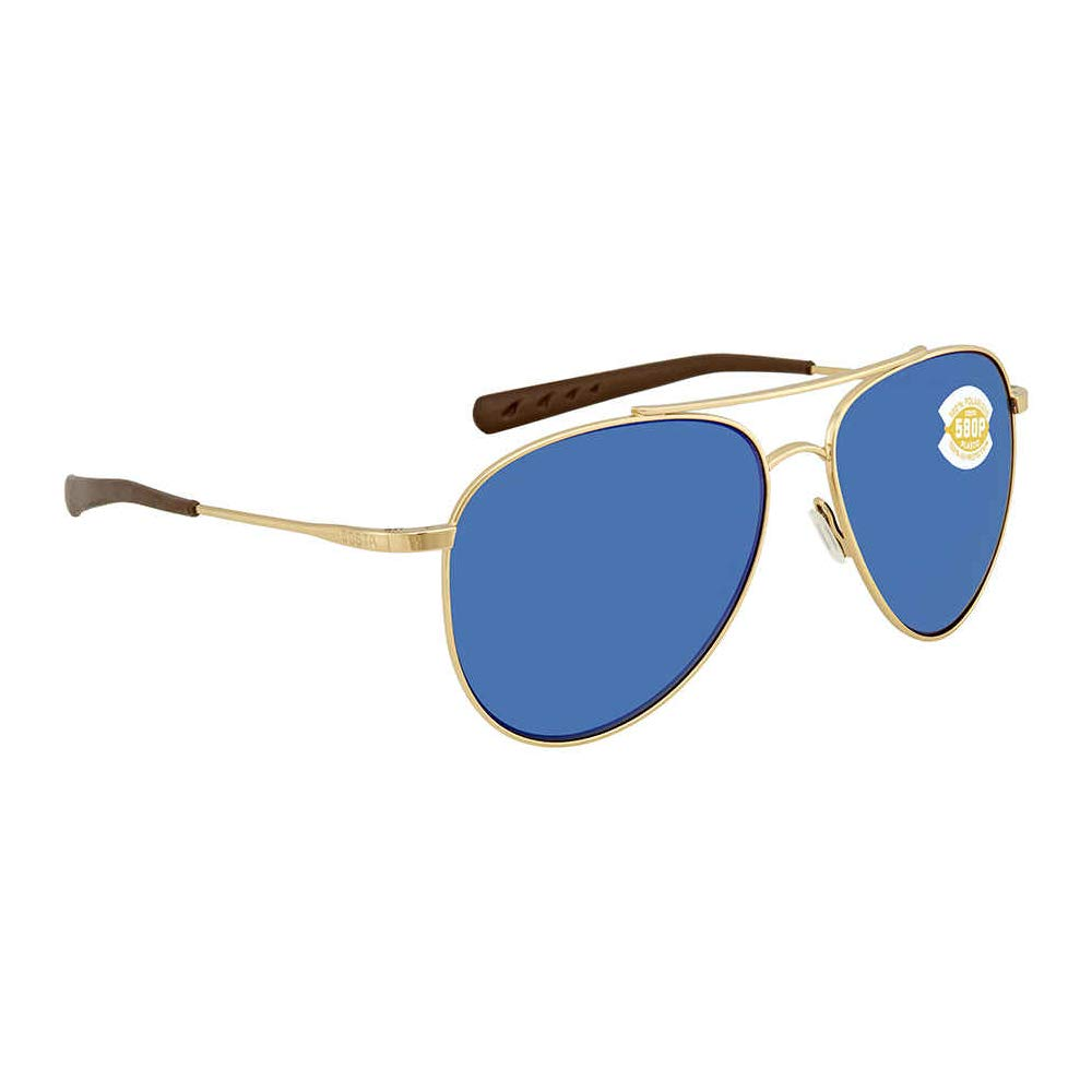 3cf276433a Amazon.com  Costa Del Mar Cook Sunglasses Brushed Palladium Blue Mirror  580Plastic  Sports   Outdoors