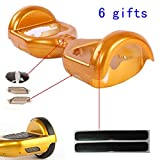 Hoverboard Gold Best Deals - Outer Shell Cover Replacement For 6.5'' Two Wheel Electric Self Balancing Scooter DIY (Gold)