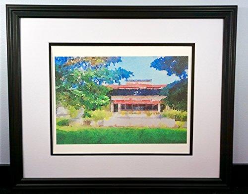 (Frank Lloyd Wright's Westcott House Original 11x14