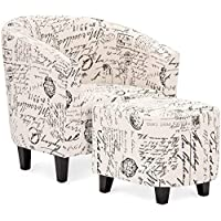 Best Choice Products Modern Contemporary Upholstered...