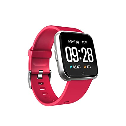 Oasics Fitness Pulsera Smartwatch Impermeable IP68, Smart Watch para Hombre y Mujer, Y7 Bluetooth