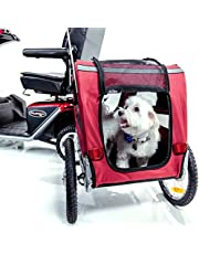 Pet Carrier Trailer for Mobility Scooters and Travel J2840 | Portable + Removable | Challenger Mobility
