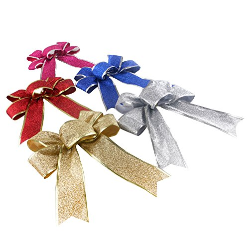 Prom Night Toilet Baby Costume (Happy Hours - 5 Pcs Glitter Colorful Bowknot Hanging Ornament for Wedding Party Prom Christmas Home Decor(Bow Knot))