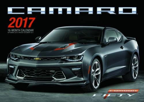Camaro 2017: 16-Month Calendar September 2016 through December 2017