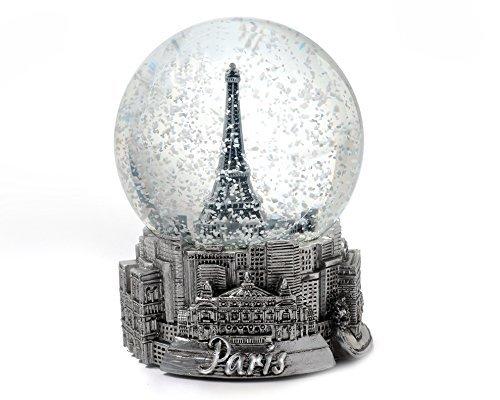 Zizo Paris Frankreich Eiffelturm Snow Globe 65/mm