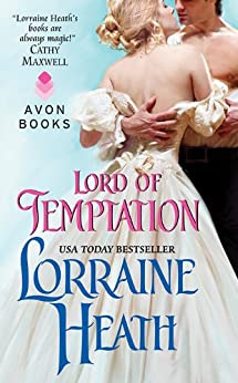 Lord of Temptation (Lost Lords of Pembrooke Book 2) by [Heath, Lorraine]