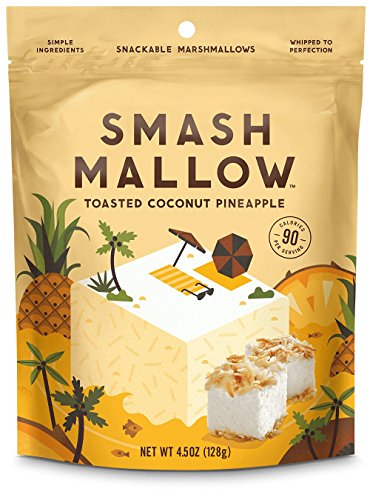 SmashMallow Snackable Marshmallows Variety Pack 4.5oz Bags (Pack of 6)