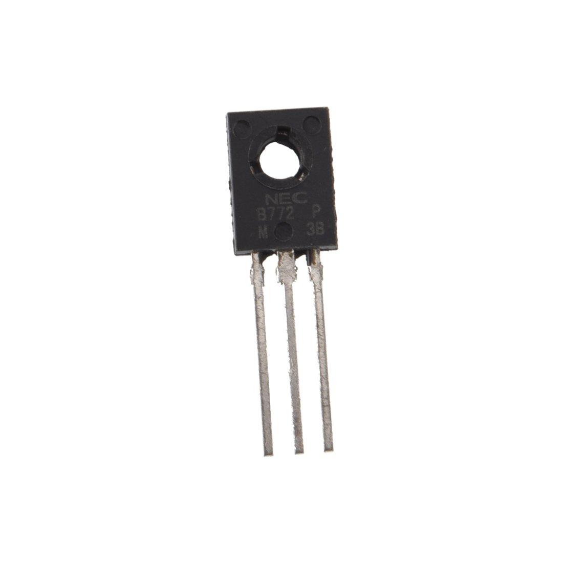 R TOOGOO 10pcs B772 transistor PNP Medium Power