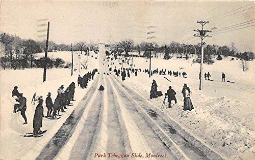 Park Toboggan Slide Montreal, Canada Old Vintage Postcard Post Card ()