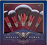 Luxie Beauty - Officially Licensed Wonder Woman 5 Piece Brush Set & Mirror Compact