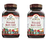 Nutrigold Prenatal Multi Gold Plant-Based Whole Food Nutrients (90 Vegan Capsules) Pack of 2