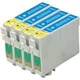 ***FREE POST**** 4 Cyan (blue) High Capacity ink cartridges for use in XP-305 XP-312 XP-202 XP-212 XP-102 XP-405 XP-415 XP-205 XP-30 XP-302 XP-33 XP-225 XP-322 XP-325 XP-422 XP-425 In(4-Pa'ck) to Replace inkcartridges in Epson Expression Printers NON Oem by bvhdirect