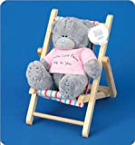"Me to You Tatty Teddy Bear 4"" (10.16 Cm) Deckchair Bear"