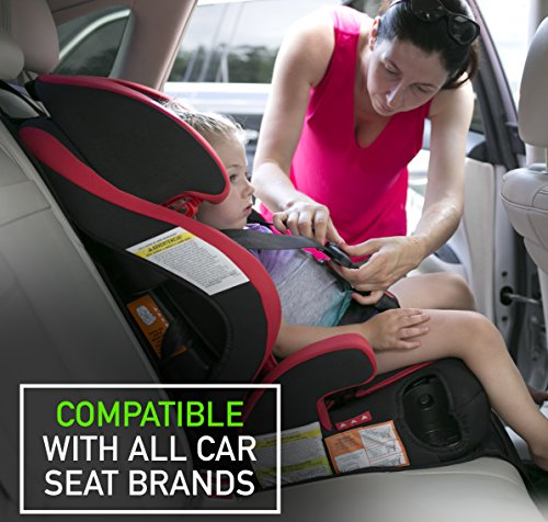 Baby Car Seat Protector with Thickest Padding - Premium Carseat Seat Protectors - Carseat Auto Cover - Seat Protector Under Car Seat - Car Seat Guardian - Leather Car Seat Mat - Booster Seat Protector by Balli (Image #3)