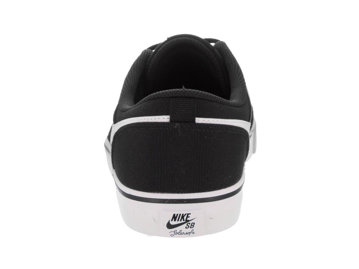 Scarpa da skate Nike? Uomo's Portmore II Solar Cnvs Nero / Bianco 10.5 Uomo Stati Uniti