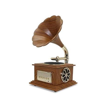 Mini Modelo Metal Fonógrafo Gramófono Tocadiscos Música ...