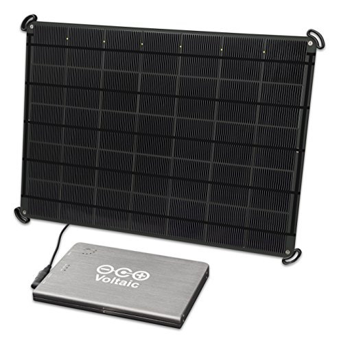 Voltaic Systems 17 Watt Rapid Solar Panel Charger for Laptops (Including MacBooks with an Adapter) | Includes a Battery Pack (Power Bank) and 2 Year Warranty - Charcoal by Voltaic Systems (Image #8)