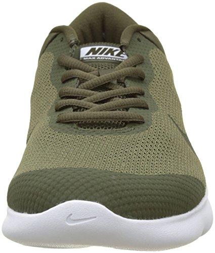 Nike Mens Air Max Advantage Scarpe Da Corsa Verde (oliva Medio / Cargo Kaki / Sequoia 200)
