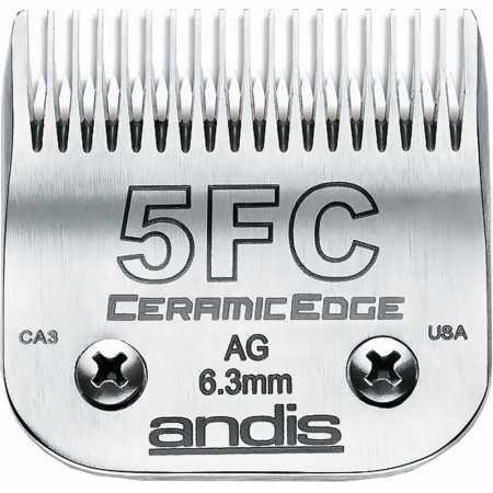 (Andis CeramicEdge Clipper Blade Size 5FC)