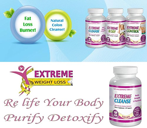 Extreme Cleanse Control Weight loss Diet System Kit 30 Day Supply All Natural by SliMaxUSA (Image #4)