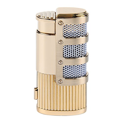 - YF Jet Flame Torch Triple Butane Cigarette Gas Cigar Lighter with Gift Box