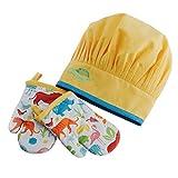 Design Imports 27134 Zoo Gift Set Yellow