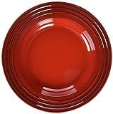 Le Creuset Stoneware 10-Inch Soup Bowl, Cerise (Cherry Red)