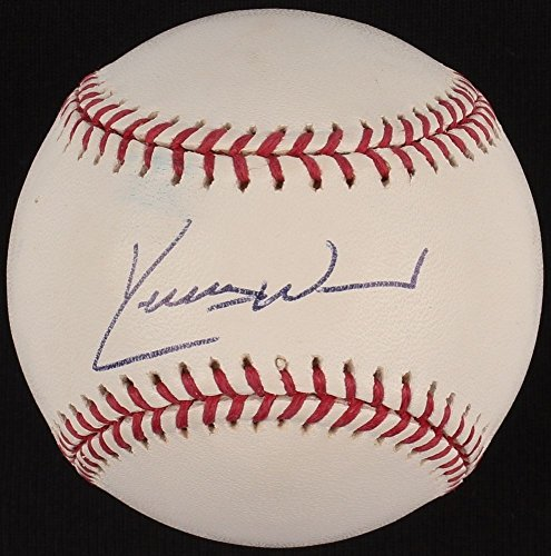 Kerry Wood Signed Oml Baseball JSA Nl Rookie Of The Year 98 Rec 20Ks 1 Game - Authentic Signed Autograph