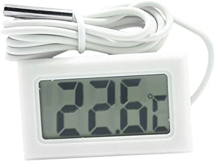 Thermomètre LCD Digital Réfrigérateur Congélateur Aquariums Température