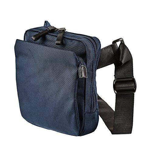 Jost Messenger Bag with zip S Soho Blue [5] Blu