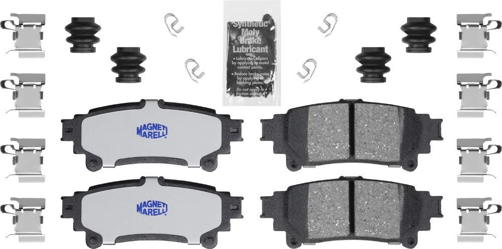 Magneti Marelli by Mopar 1AM401391A Ceramic Rear Disc Brake Pad Kit 4 Pack