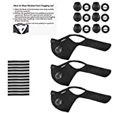 VEIPAO 3 Set Sports Mask Running Mask with