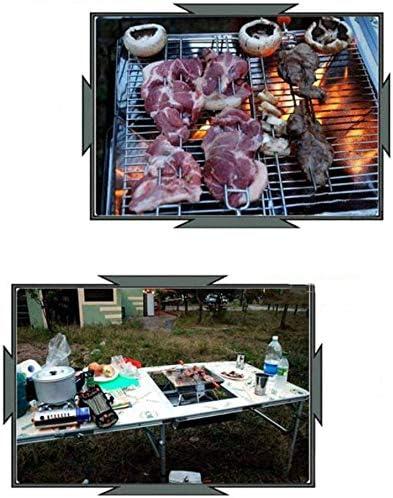 JFZCBXD Fire Pit en Acier Inoxydable, Grand Portable Maison Foyer extérieur Hiver Grand Barbecue Épaississement Poêle de Chauffage
