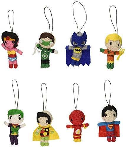 DC Comics String Dolls (8 Piece Set)