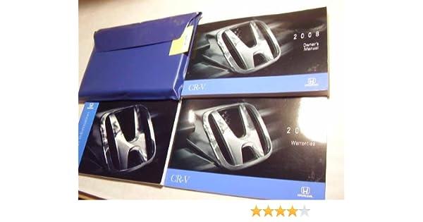 2008 honda crv cr v owners manual honda automotive amazon com books rh amazon com 2008 honda crv service manual 2008 honda crv owners manual pdf
