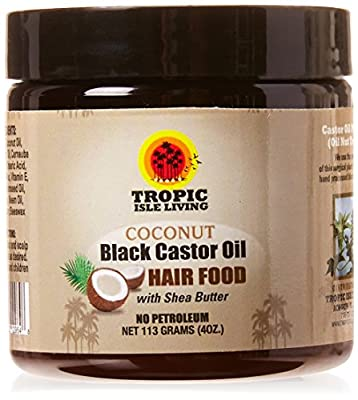 Jamaican Black Castor Oil Coconut Hair Food by Tropic Isle Living