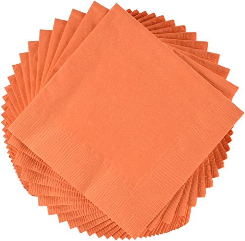 napkins hi count (Orange Beverage Napkins)