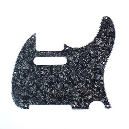 Custom Guitar Pickguard For G&L ASAT Classic USA ,4ply Black - Classic G