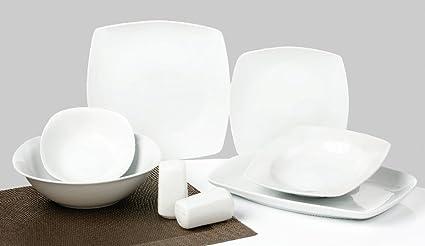 Topkapi De 28 Piezas Vajilla essservice Color Blanco Classic Elegance TK de 800
