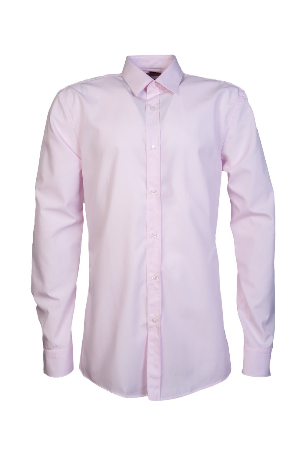 HUGO BOSS Mens Smart Shirt Elisha 01 50330360 Size 42 Pink