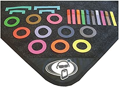 Amazon Com Protection Racket Drum Mat Markers Musical